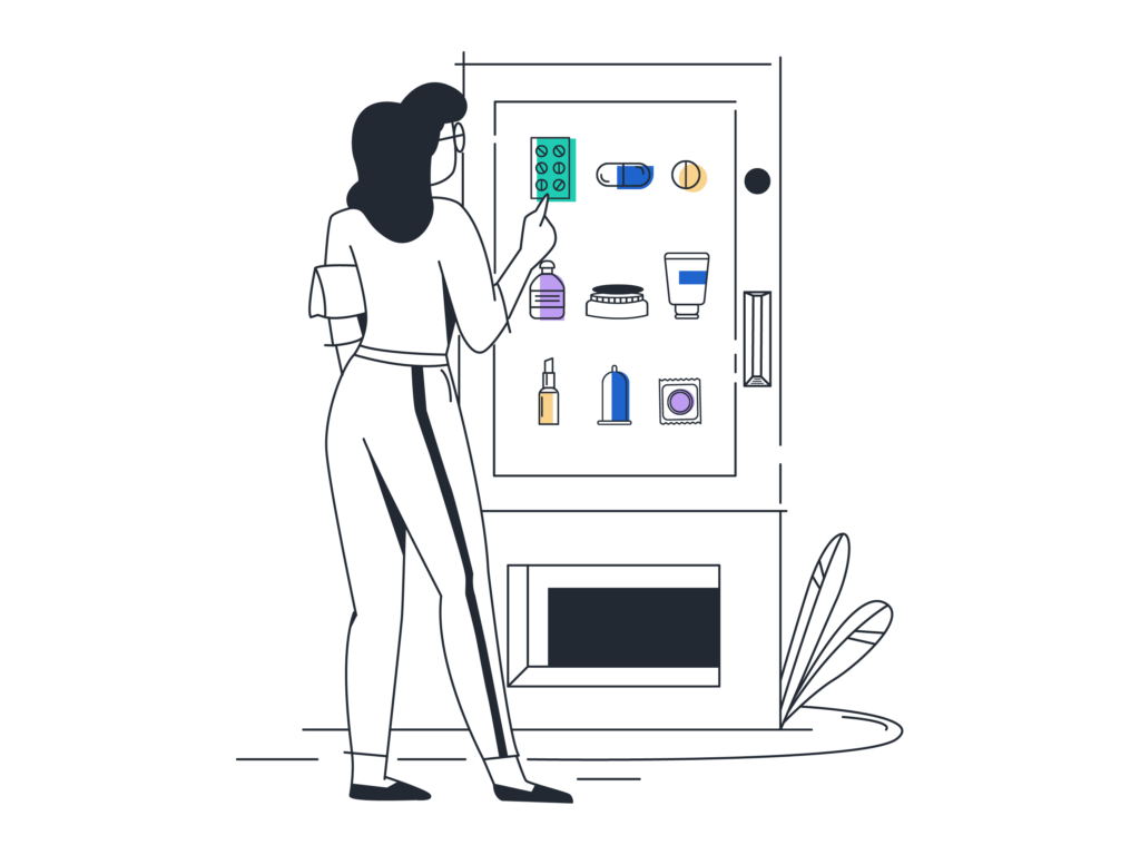 Kiosk and Vending Machine Lochting